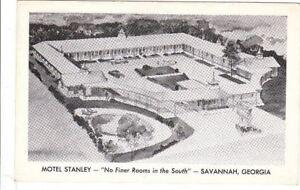 Postcard-Motel-Stanley-Savannah-Georgia