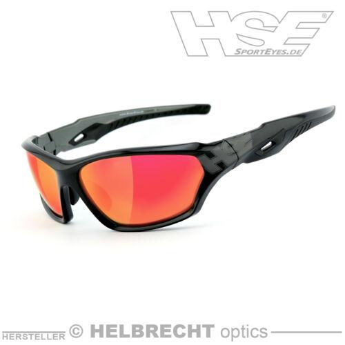 HSE SportEyes Sportbrille Sport-Sonnenbrille 2093bs-arv laser red