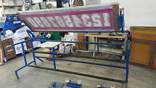 Screen Printing Number Press