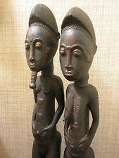 Figure Pair ? Baule people, Côte d'Ivoire, West Africa