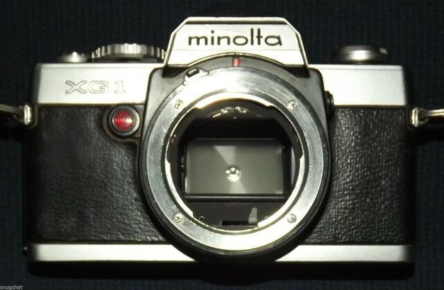 Konica Minolta XG-1 35 mm SLR Film Camera Body Only ~ Vintage ~ Use for Parts