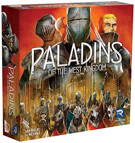 Renegade Game Studios   Paladins of The West Kingdom   Shrink Wrap / Free Ship**