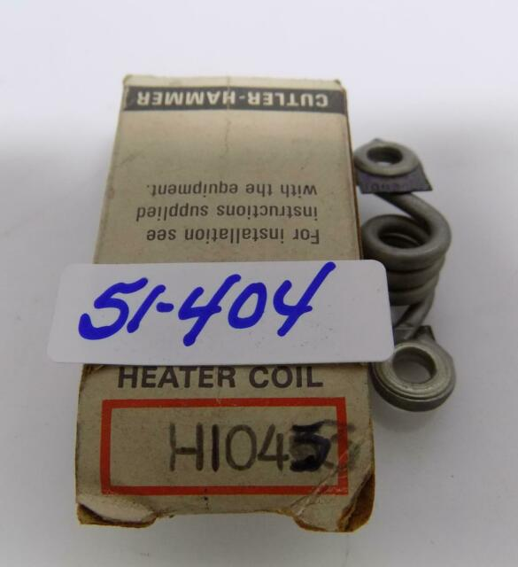 Cutler Hammer H1045 Overload Heater Element NEW