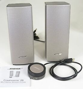 Bose Companion 20 Multimedia Speaker System New Unused