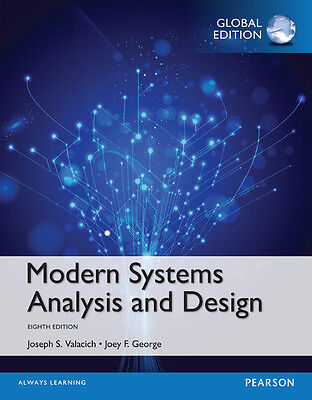 Modern Systems Analysis And Design 8th Edition Global By Joseph S Valacich A 9780134204925 Ebay