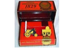 MATCHBOX-MODELS-of-YESTERYEAR-Y-12-STEPHENSONS-ROCKET-yellow-1829-diecast-model