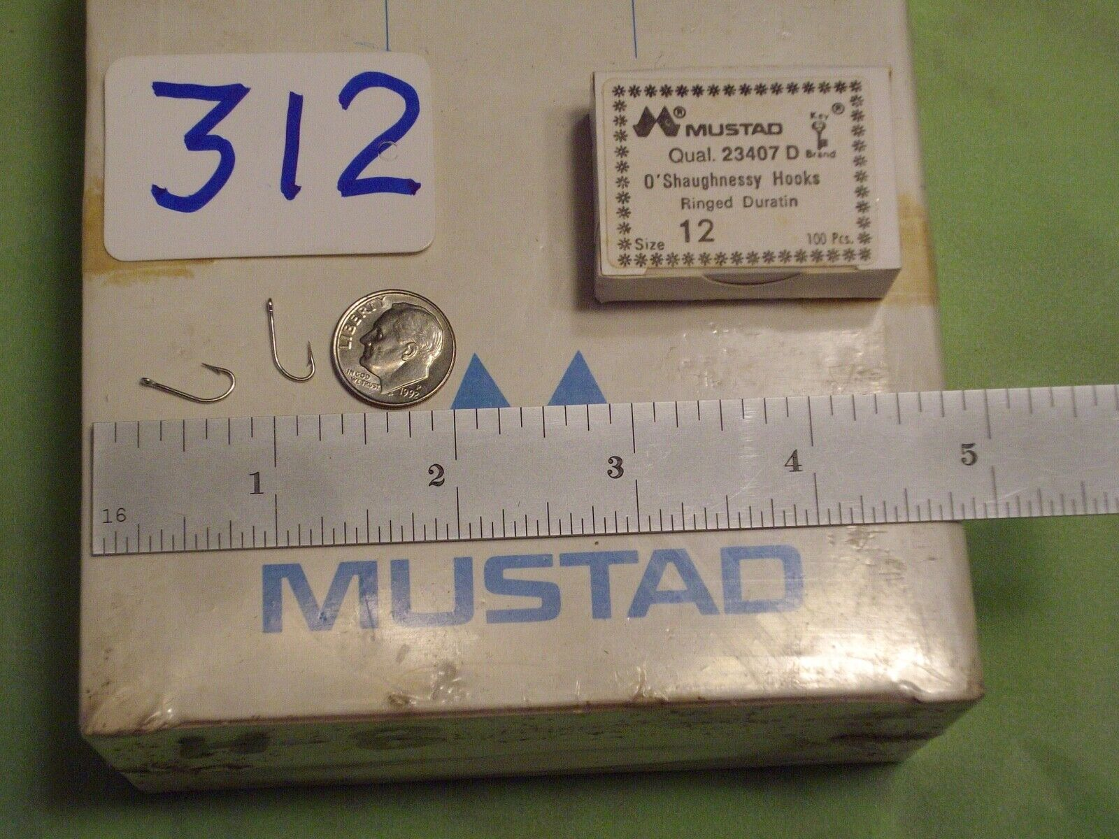 5 SMALL MUSTAD FLY FISHING PRO QUICK SNAPS MADE IN NORWAY OLD WORLD QUALITY