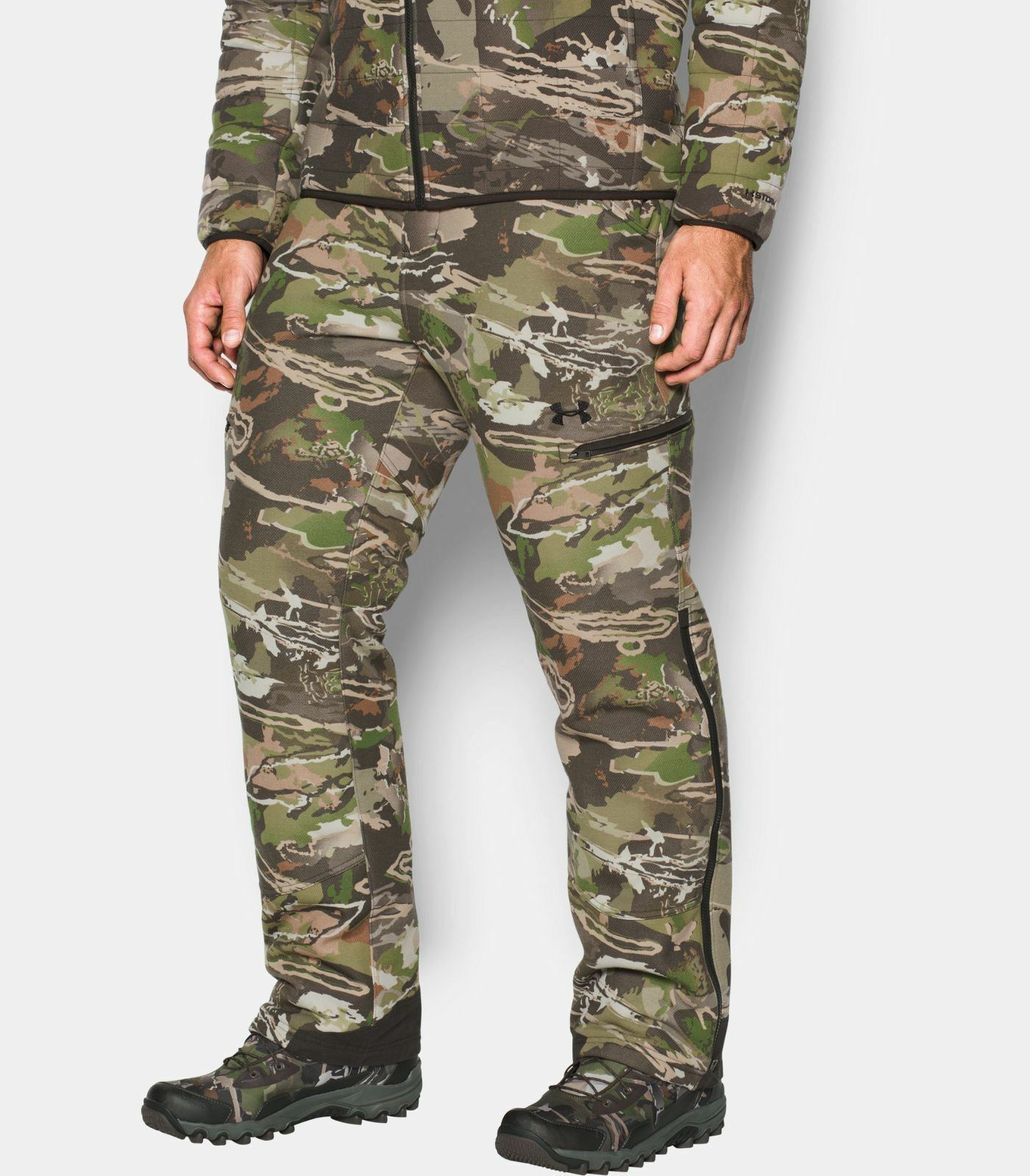 UA Stealth Reaper Extreme Wool Men's Hunting Pants   1299283 Barren or Forest