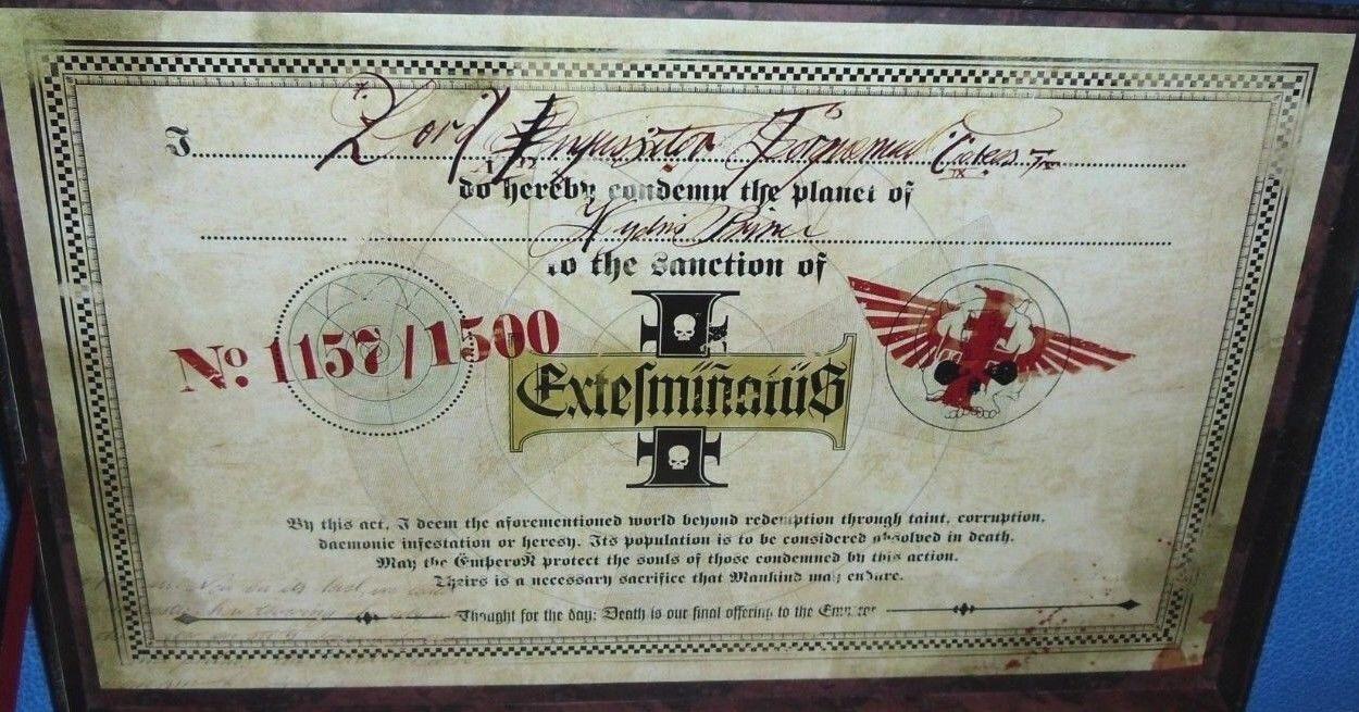 Warhammer 40k Apocalipsis Edición de Coleccionista Limitado Box Set Nuevo En Caja