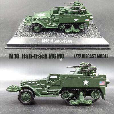 Die cast 1//72 Modellino Carro Armato M16 MGMC 1-Ton Trailer 447th AAA Bat.