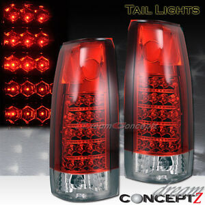 141265117168on 88 98 Chevy Led Tail Lights