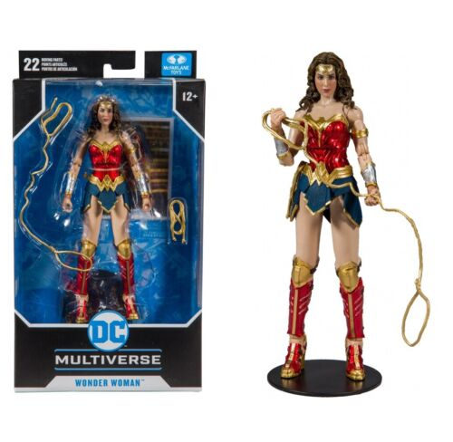 "Wonder woman 7/"" Scale Action Figure McFarlane DC Collectables"