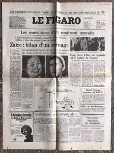 N105-La-Une-Du-Journal-Le-Figaro-22-Mai-1978