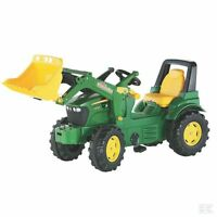 John Deere Childrens Pedal 7930 Tractor With Loader Kids Ride On Farm Toy
