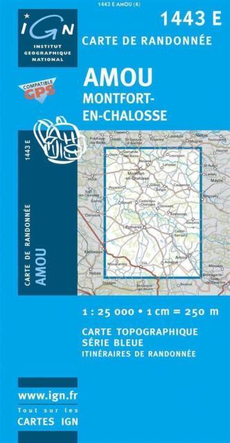 Amou Montfort 1 : 25 000 von 1443 E. (2010, Karte)