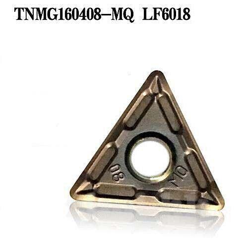10pcs TNMG160408-MQ LF6018 TNMG carbide Turning Inserts For StainlessSteel