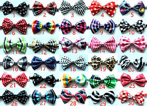 Wholesale-Pet-Dog-Cat-Bow-Ties-Dog-Collar-Polyester-Dog-Necktie-Adjustable-Ties