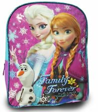 Disney Frozen Princess Elsa Anna Olaf Backpack School Bag Girl's Children Bag s