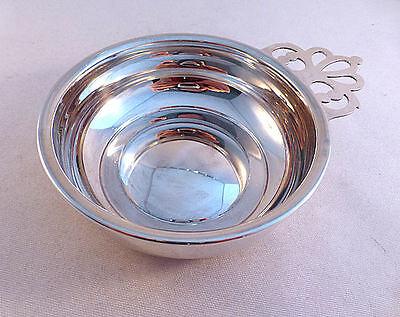 Web Sterling Pierced Handle Porringer 527 4 Wide Bowl Ebay