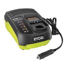 Ryobi ONE+ CAR BATTERY CHARGER 14.4 -18V Dual-Chem Low Voltage Alarm LED Light