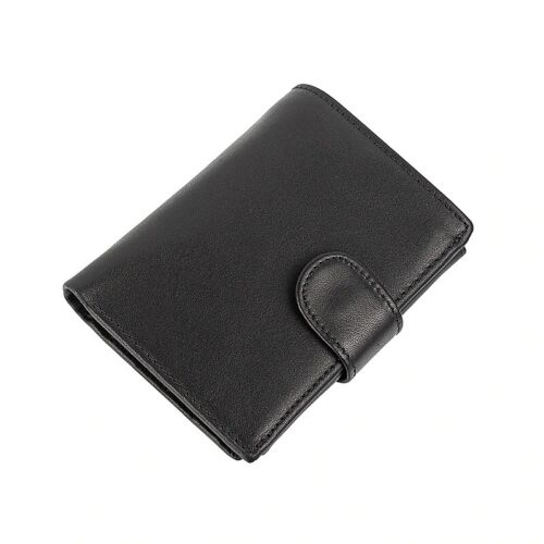 Men/'s Wallet Genuine Leather Clutch Wallets Purses Coin Pocket Multi-Card Holder