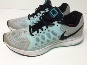 Details about Nike Air Zoom Pegasus 31 Women's Shoes Size 9.5 Light Blue Running 654486 105