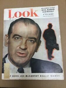 Joseph McCarthy - Anti-Communist - Spy - 1953 LOOK Magazine
