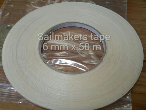 6mm x 50m Sailmaking and Canvas Basting tape for all fabrics and crafts