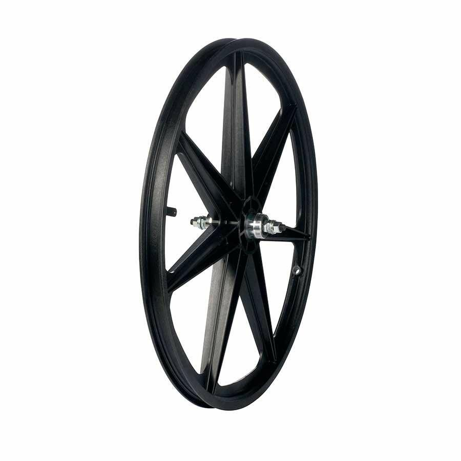 Skyway Tuff II rear wheel 24X1.75  3 8  nutted FW 7 Spk Bk