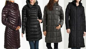 North face womens down jacket long