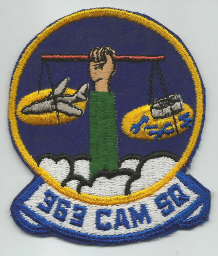 1950s60s 363rd CAM SQUADRON patch