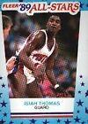 1989 Fleer Isiah Thomas #6 Basketball Card