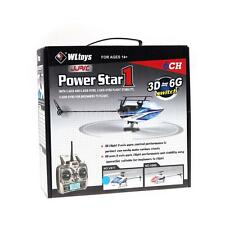WLtoys V977 Power Star X1 6CH 2.4G Brushless 3D Flybarless RC Helicopter Q6G7