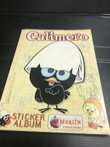 CALIMERO-album-figurine-1996-completo-merlin-stickers