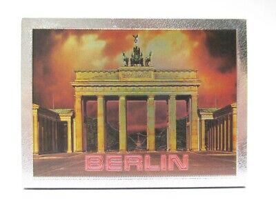 Berlin Laser Magnet 8 Cm Souvenir Germany Brandenburger Tor !!! üBereinstimmung In Farbe