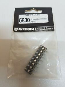 Wedico-5830-Schraubklemmleiste-8-polig