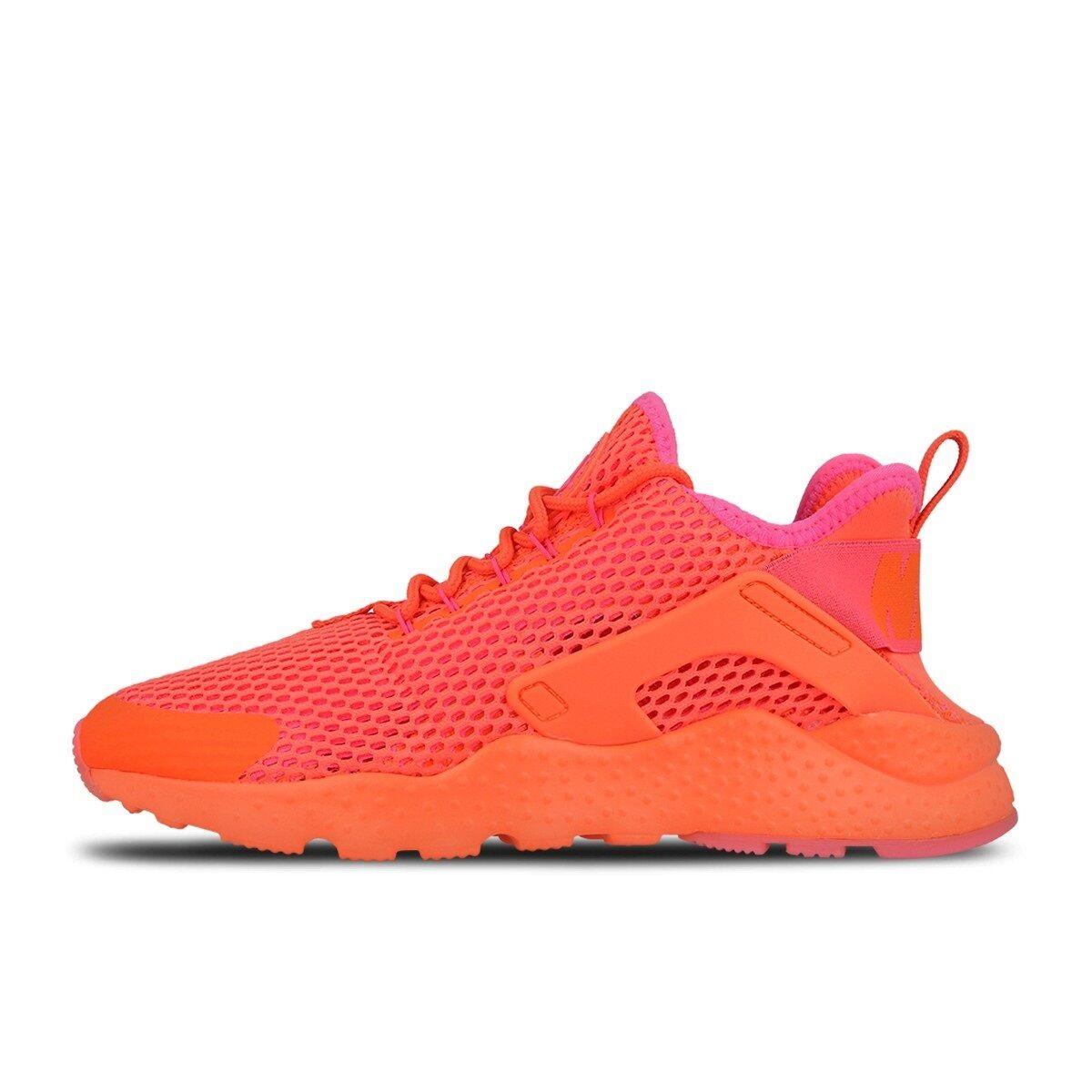 Nike Air Huarache Run Ultra Breathe 833292-800 Total Crimson Pink Blast Red Rare Special limited time