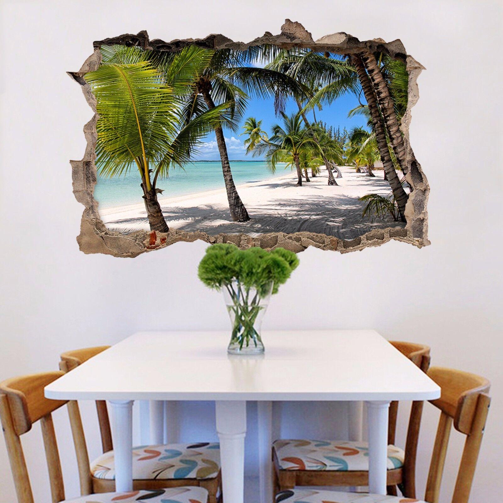 3D Tropisch Baum 78 Mauer Murals Mauer Aufklebe Decal Durchbruch AJ WALLPAPER DE