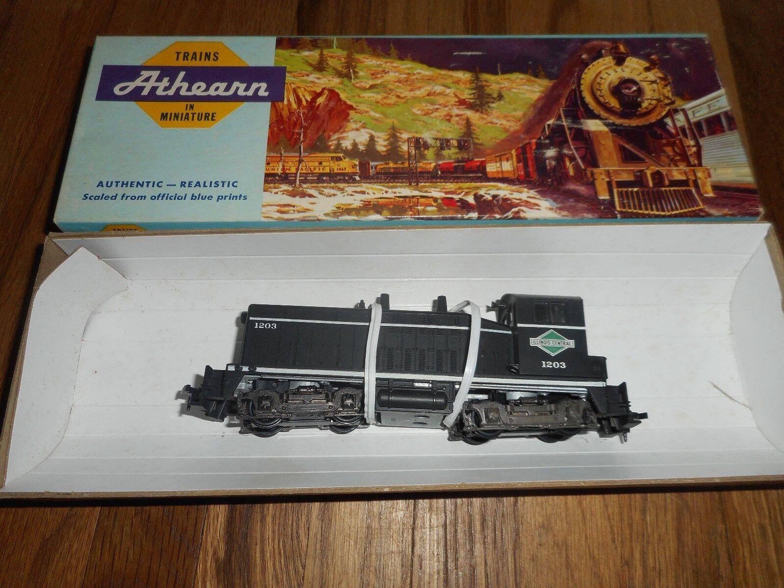 Athearn 4053 Illinois Central SW-1500 RTR Cow Dummy HO Scale Railroad RR Train
