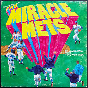 1969 Miracle Mets LP Record Album New York Mets World Series Champions