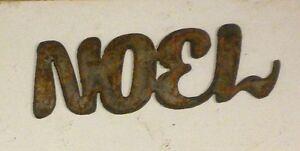 "4/"" XOXO Rusty Rough Metal Wall Art Vintage Craft Ornament Sign DIY Love Hug Kiss"