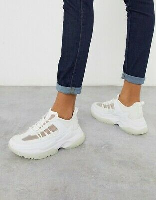 New Asos Womens Dabbly Chunky Trainers