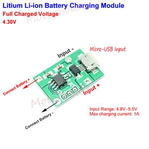 lithium polymer li ion 18650 3 7v 3 8v battery charging boardimage is loading lithium polymer li ion 18650 3 7v 3