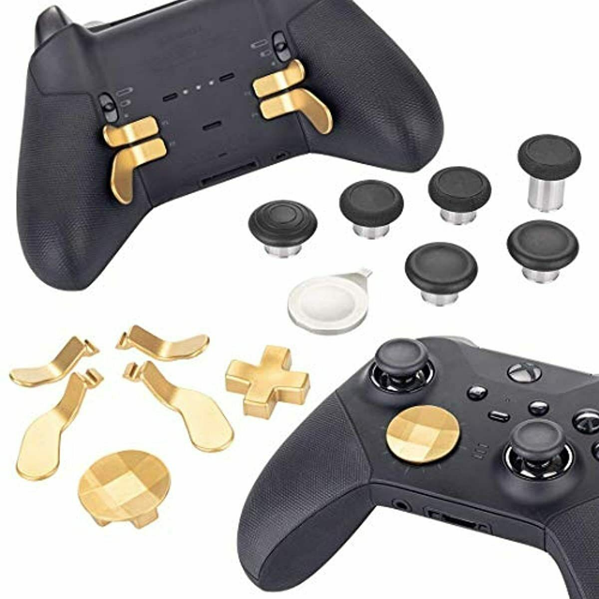 Elite Series 2 Controller Replacement Part Custom Accessory Kit - Gold Xbox One,