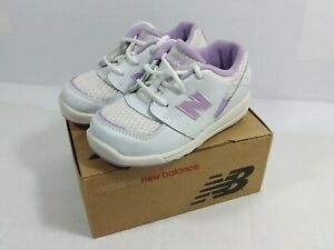 Size 8 Wide White Violet Shoes