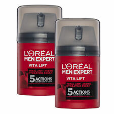L'Oreal Paris Men Expert Vita Lift 5 Anti-Ageing Daily Moisturiser 50ml x 2