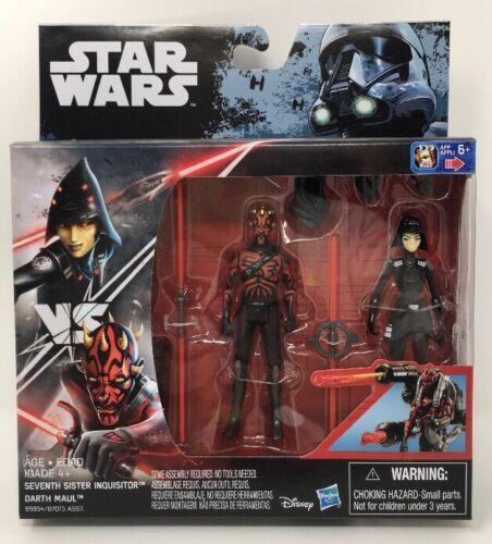 Disney Star Wars Rebels septième soeur inquisiteur vs Darth Maul