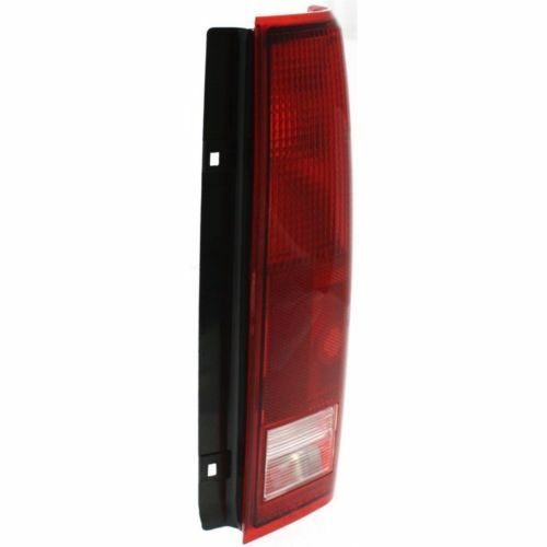 Clear and Red Lens Passenger Side Tail Light For Safari 85-05