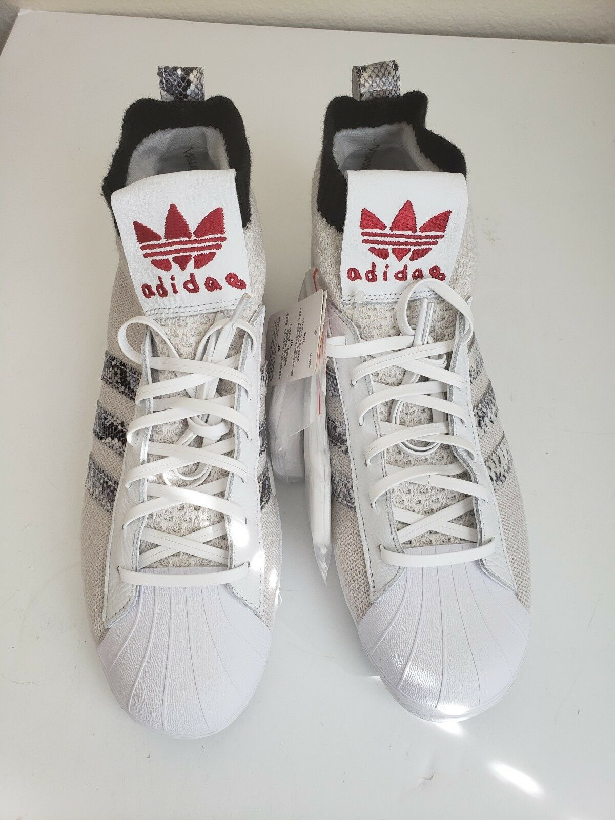 5b776c1ff5c80 Adidas Originals Originals Originals UAS Ultra Star United Arrows Size 10.5  B37111 Snake White cb0aac