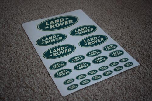 Land Rover Car Vehicle Emblem Logo Badge Car Racing Tuning Turbo Decal Stickers